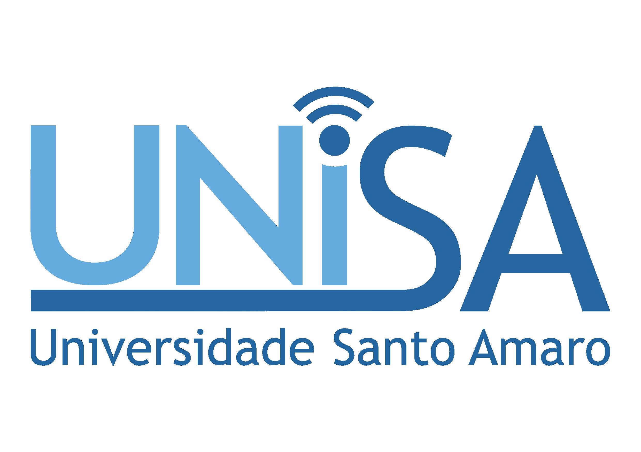 Logo Universidade Santo Amaro
