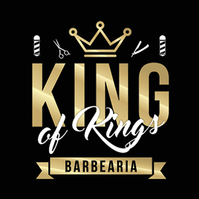 Logo King of Kings Barbearia