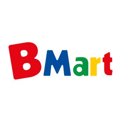 Logo B. Mart Brinquedos