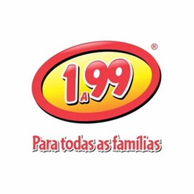 Logo Lojas 1 a 99 União