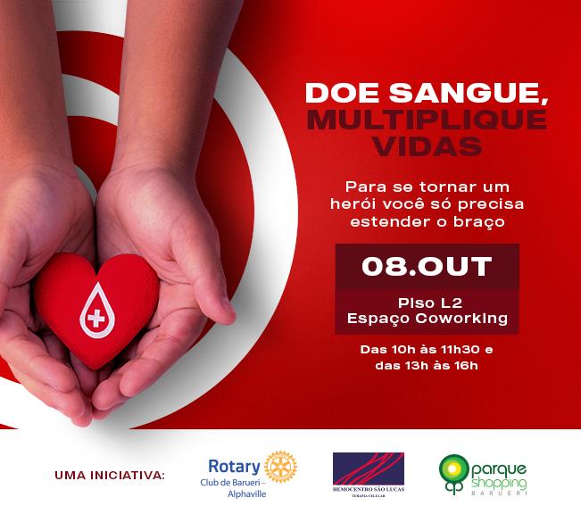Campanha Doe Sangue, Multiplique Vidas