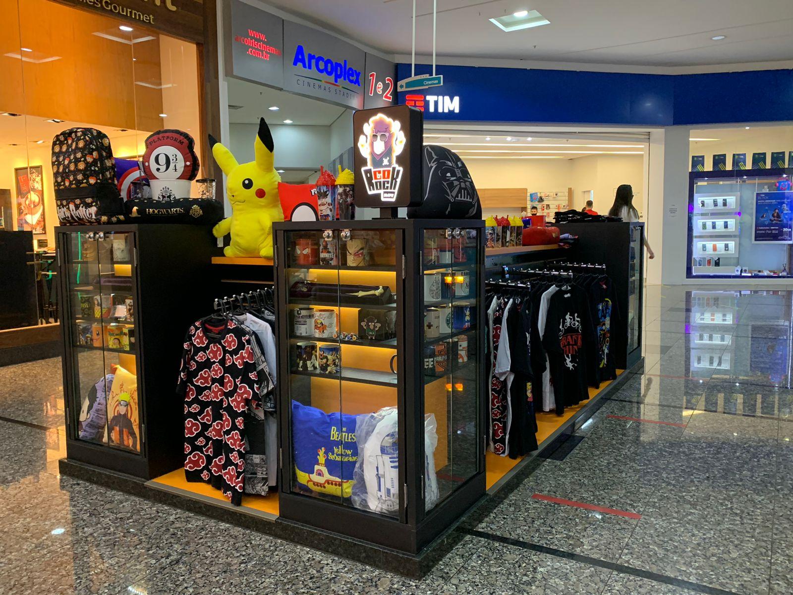 Apaixonados por rock e geeks agora encontram loja especializada em Cascavel