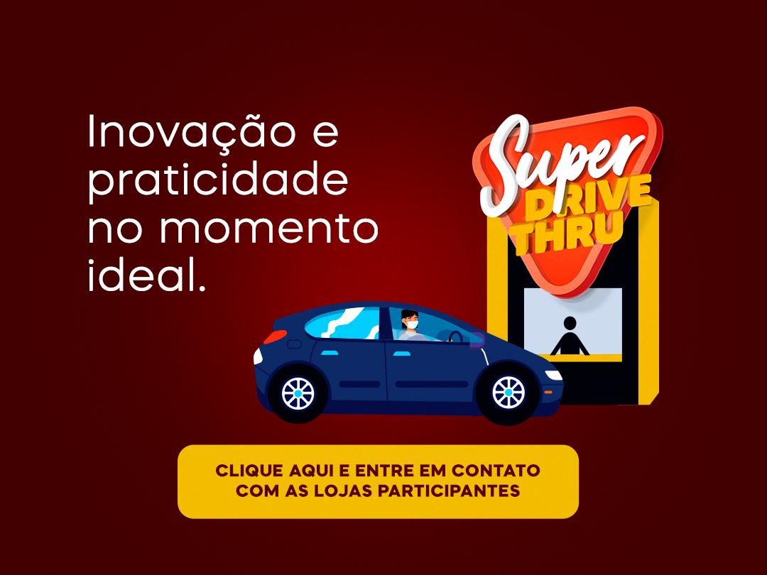 Super Drive Thru do Parque Shopping Maia funcionará aos finais de semana