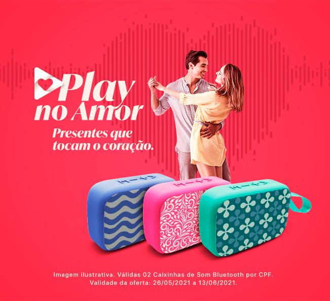 Play no Amor, presentes que tocam o coração
