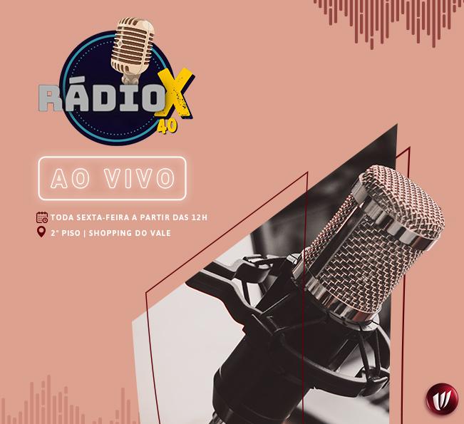 Rádio X40 ao Vivo