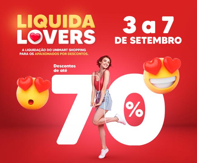Liquida Lovers: a liquidação para os apaixonados por desconto
