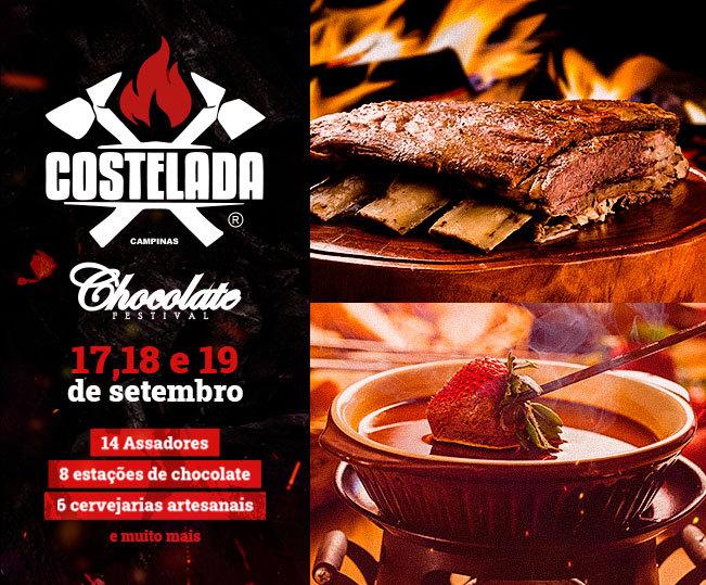 Costelada Chocolate Festival
