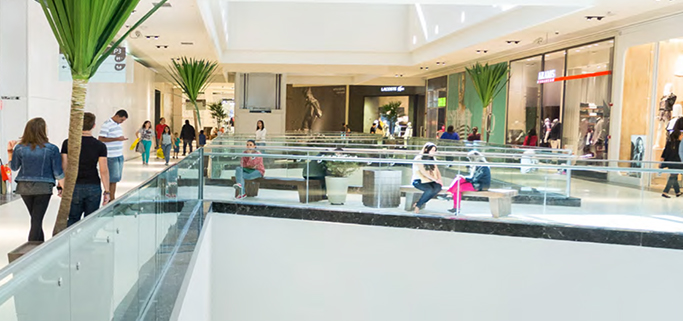 Foto de lojas do shopping
