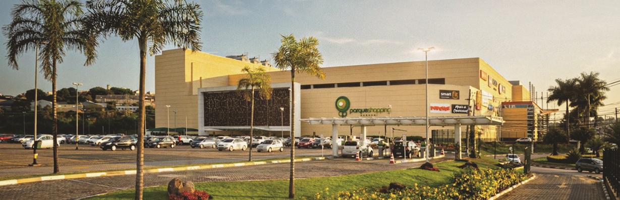 Imagem fachada do shopping